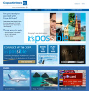 Copa Airlines - CONNECT WITH COPA - It's possible