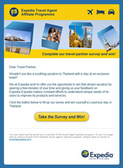 Expedia Travel Agent Survey