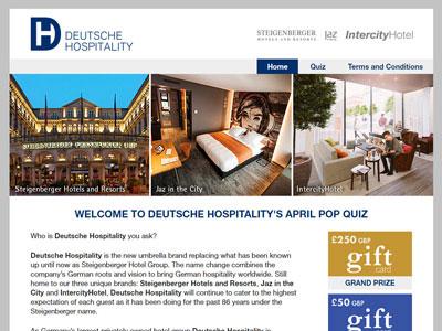 Deutsche Hospitality promotion
