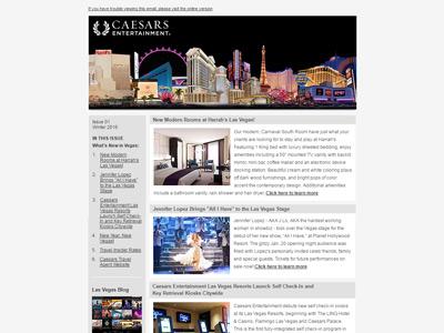 Caesars eNewsletter