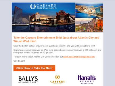 Caesars Atlantic City Survey