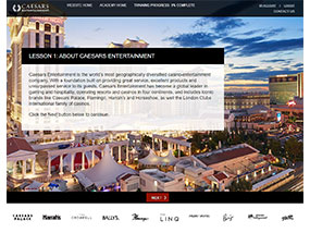 Caesars Entertainment Travel Agent Academy